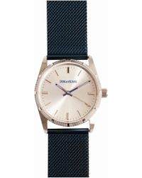 Zadig & Voltaire - Blue Mesh Watch 36 - Lyst