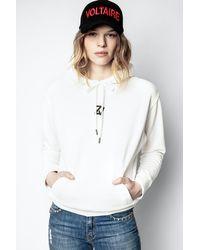 Zadig & Voltaire Spencer Photoprint Sweatshirt - Multicolour