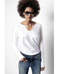 Zadig & Voltaire - Strass T-shirt - Lyst