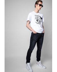 Zadig & Voltaire T-shirt ted - Blanc