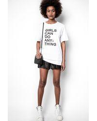 Zadig & Voltaire Pax Shorts - Black