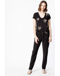Zadig & Voltaire Parono Wool Trousers - Black