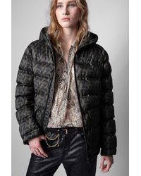 Zadig & Voltaire Bowie Puffer Coat - Black