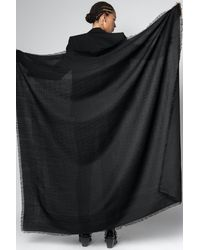 Zadig & Voltaire Glenn Zv Initiale Scarf - Black