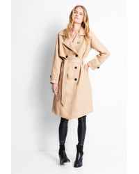 Zadig & Voltaire Mai Deluxe Trench - Blue