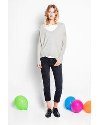 Zadig & Voltaire Boyfit Used Jeans - Grey