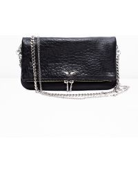 Zadig & Voltaire - Rock Bubble Clutch - Lyst