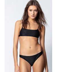 Zadig & Voltaire Jeri Bikini Top - Black