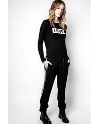 Zadig & Voltaire Pomy Trousers - Black