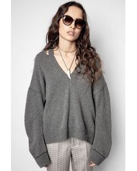Zadig & Voltaire - Stoned Recycled Pullover - Lyst