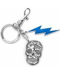 Zadig & Voltaire - Karel Flash Skull Key-ring - Lyst