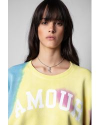 Zadig & Voltaire T-shirt Portland Amour - Multicolore