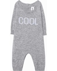 Zadig & Voltaire Baby Didou All-in-one - Gray
