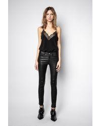 Zadig & Voltaire Phlame Pants - Black