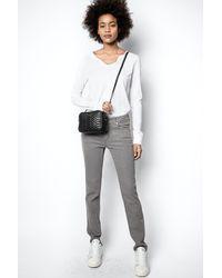 Zadig & Voltaire Eva Jeans - Grey