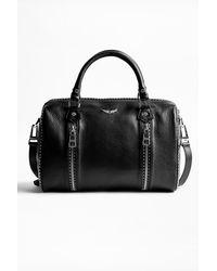 Zadig & Voltaire Sunny Medium Studs Bag - Black
