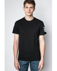 Zadig & Voltaire T-shirt tommy arrow - Noir