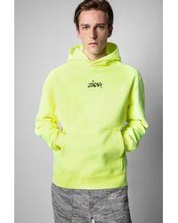 Zadig & Voltaire - Sanchi Happy Photoprint Sweatshirt - Lyst