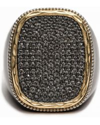 Zadig & Voltaire - Strass Black Ring - Lyst