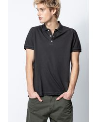 Zadig & Voltaire Trot Polo Shirt - Black