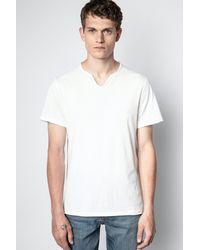 Zadig & Voltaire Monastir T-shirt - White