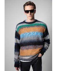 Zadig & Voltaire Jersey Loris Striped - Multicolor