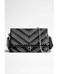 Zadig & Voltaire Rocky Arrow Studs Bag - Black