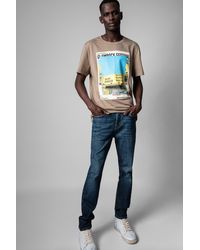Zadig & Voltaire T-shirt ted photoprint - Multicolore