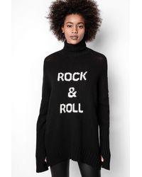 Zadig & Voltaire Alma Rock Sweater - Black