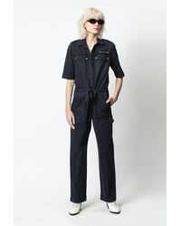 Zadig & Voltaire Catsy Mili Jumpsuit - Blue