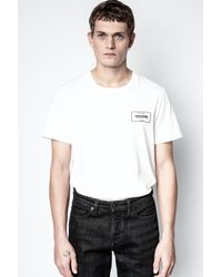 Zadig & Voltaire Ted Blason T-shirt - White