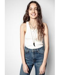 Zadig & Voltaire Stacy Tank Top - Multicolour