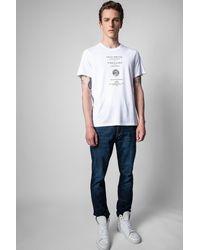 Zadig & Voltaire T-shirt tommy zadig ou la destinée - Blanc