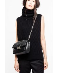 Zadig & Voltaire Grace Sleeveless Cashmere Jumper - Black
