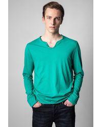 Zadig & Voltaire T-shirt Monastir - Vert