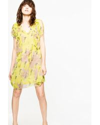 Zadig & Voltaire - Rivel Blossom Dress - Lyst