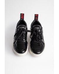 Zadig & Voltaire Sneakers Blaze Crush - Noir