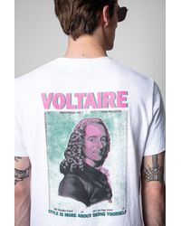 Zadig & Voltaire T-shirt ted voltaire - Blanc