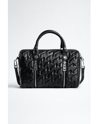 Zadig & Voltaire Sunny Medium Zv Quilted Bag - Black