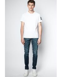 Zadig & Voltaire T-shirt tommy arrow - Blanc