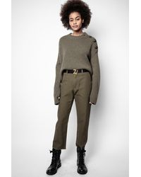 Zadig & Voltaire Project Trousers - Green