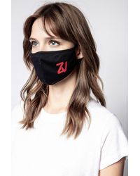 Zadig & Voltaire Zv Initiale Masks Pack - Black