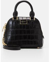 DKNY Steffy Mini Dome Satchel - Handbag - Black