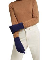 Esprit Fingerhandschuh - Blau
