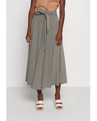 Esprit Midi Skirt - Maxi Skirt - Blue