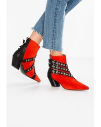Shellys London Frasier Strappy Ankle Boot UXuXhPrGdk