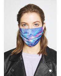 Florence Bridge FACE MASK - Masque en tissu - Bleu