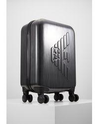 Emporio Armani Unisex - Wheeled Suitcase - Grey