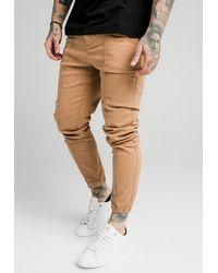 SIKSILK CUFFED - Jeans Skinny Fit - Natur