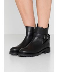 Bogner New Meribel - Cowboy/biker Ankle Boot - Black